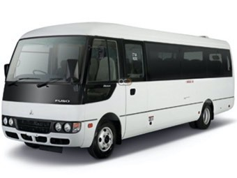 Hire Mitsubishi Rosa - Rent Mitsubishi Dubai - Bus Car Rental Dubai Price