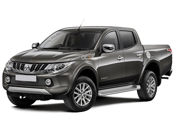 Hire Mitsubishi L200 - Rent Mitsubishi Dubai - Pickup Truck Car Rental Dubai Price