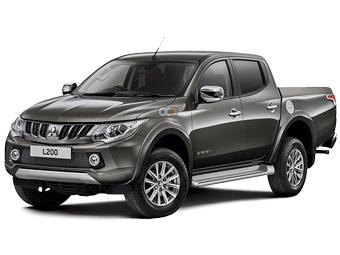 Hire Mitsubishi L200 - Rent Mitsubishi Marrakesh - Pickup Truck Car Rental Marrakesh Price