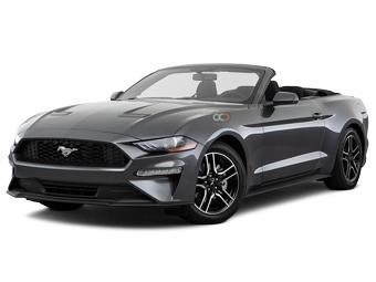 Hire Ford Mustang Convertible V6 - Rent Ford Dubai - Sports Car Car Rental Dubai Price