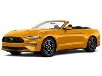 Hire Ford Mustang V6 Convertible - Rent Ford Dubai - Sports Car Car Rental Dubai Price