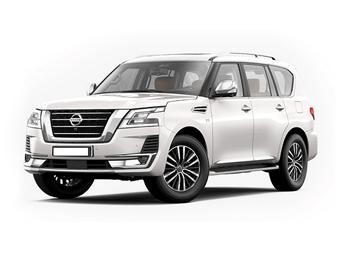 Hire Nissan Patrol Platinum - Rent Nissan Dubai - SUV Car Rental Dubai Price