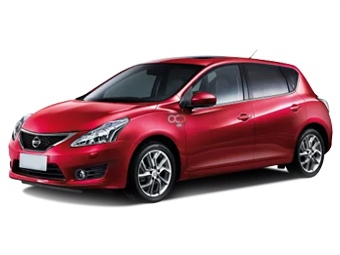 Hire Nissan Tiida - Rent Nissan Muscat - Compact Car Rental Muscat Price