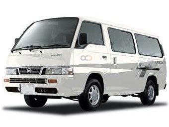 Nissan Urvan Price in Salalah - Van Hire Salalah - Nissan Rentals