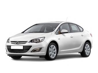 Opel Astra Sedan Price in Belgrade - Sedan Hire Belgrade - Opel Rentals