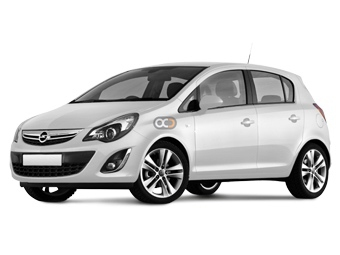 Opel Corsa Price in Sharjah - Compact Hire Sharjah - Opel Rentals