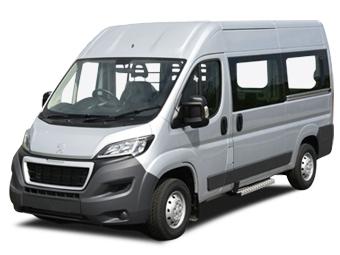 Hire Peugeot Boxer 9 pax  - Rent Peugeot Valencia - Van Car Rental Valencia Price