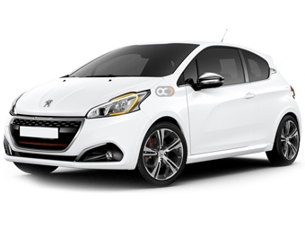 Peugeot 208 Price in Sharjah - Compact Hire Sharjah - Peugeot Rentals