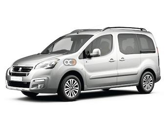 Peugeot Partner 5 pax Price in Valencia - Van Hire Valencia - Peugeot Rentals