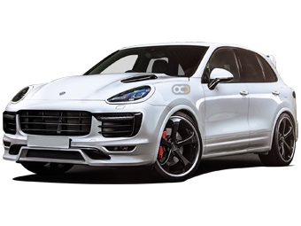 Hire Porsche Cayenne Turbo S Magnum Sports Edition - Rent Porsche Dubai - SUV Car Rental Dubai Price
