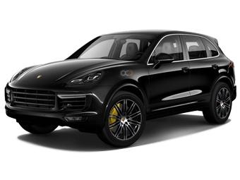 Hire Porsche Cayenne Turbo - Rent Porsche Dubai - SUV Car Rental Dubai Price