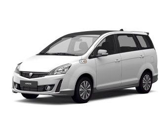 Proton exora Price in Kuala Lumpur - Van Hire Kuala Lumpur - Proton Rentals