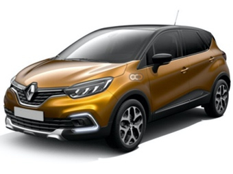 Hire Renault Captur - Rent Renault Dubai - Cross Over Car Rental Dubai Price