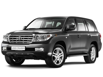 Rent a car Dubai Toyota Land Cruiser