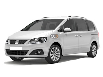 Seat Alhammbra-7-pax Price in Valencia - Van Hire Valencia - Seat Rentals