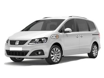 Seat Alhammbra-7-pax Price in Castellon - Van Hire Castellon - Seat Rentals