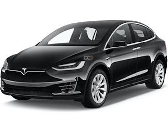 Hire Tesla Model X - Rent Tesla Barcelona - Electric Car Rental Barcelona Price