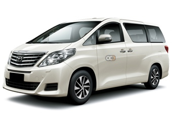Hire Toyota Alphard - Rent Toyota Dubai - Van Car Rental Dubai Price