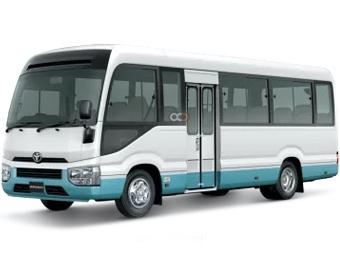 Hire Toyota Coaster - Rent Toyota Dubai - Bus Car Rental Dubai Price