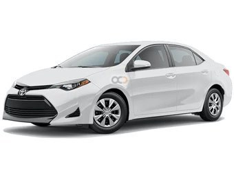 Toyota Corolla Price in Sharjah - Sedan Hire Sharjah - Toyota Rentals
