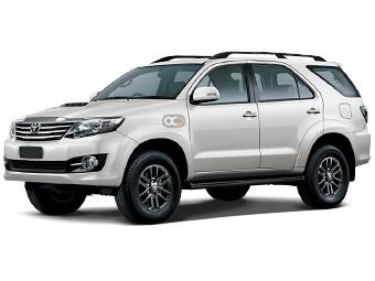 Hire Toyota Fortuner - Rent Toyota Dubai - SUV Car Rental Dubai Price