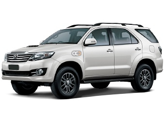 Hire Toyota Fortuner - Rent Toyota Muscat - SUV Car Rental Muscat Price