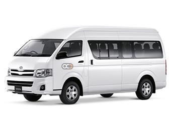 Toyota Hiace 13 Seater Price in Fujairah - Commercial Hire Fujairah - Toyota Rentals