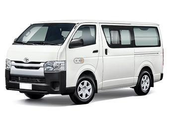 Toyota Hiace Chiller Van Price in Abu Dhabi - Commercial Hire Abu Dhabi - Toyota Rentals
