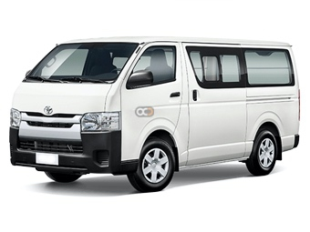 Hire Toyota Hiace - Rent Toyota Dubai - Van Car Rental Dubai Price