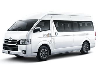 Toyota Hiace Price in Abu Dhabi - Van Hire Abu Dhabi - Toyota Rentals