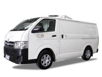 Hire Toyota Hiace Freezer Van - Rent Toyota Sharjah - Commercial Car Rental Sharjah Price
