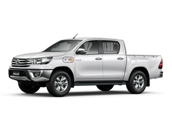 Toyota Hilux 4X2 SC Chiller Price in Sharjah - Commercial Hire Sharjah - Toyota Rentals