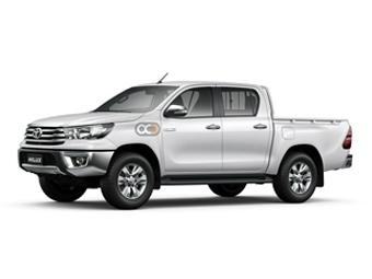 Hire Toyota Hilux 4X2 SC Chiller - Rent Toyota Dubai - Commercial Car Rental Dubai Price