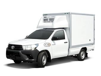 Hire Toyota Hilux 4X2 SC Freezer - Rent Toyota Abu Dhabi - Commercial Car Rental Abu Dhabi Price