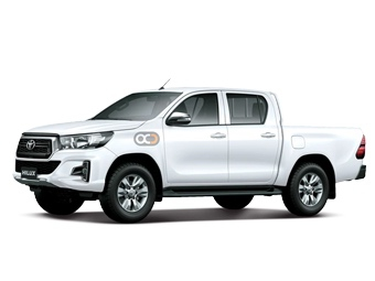 Toyota Hilux 4X4 DC - MID OPT Price in Sharjah - Commercial Hire Sharjah - Toyota Rentals