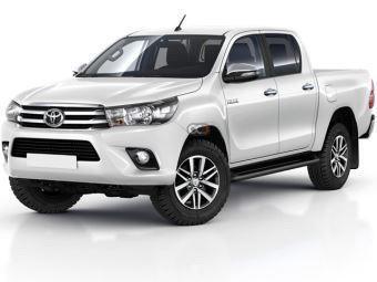 Toyota Hilux 4x2 Price in Fujairah - Pickup Truck Hire Fujairah - Toyota Rentals
