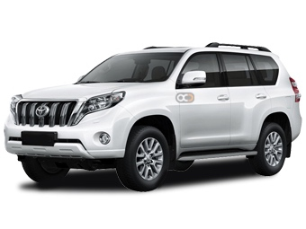Toyota Prado Price in Muscat - SUV Hire Muscat - Toyota Rentals