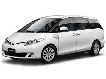 Rent a car Dubai Toyota Previa