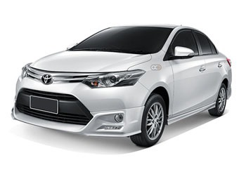 Toyota vios Price in Phuket - Sedan Hire Phuket - Toyota Rentals