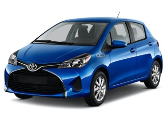 Toyota Yaris Price in Sharjah - Compact Hire Sharjah - Toyota Rentals