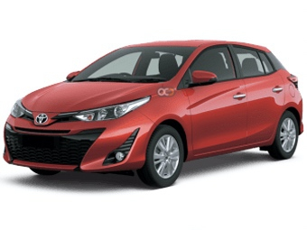 Toyota Yaris Price in Muscat - Compact Hire Muscat - Toyota Rentals
