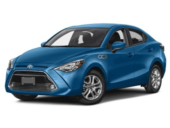 Toyota Yaris Sedan Price in Muscat - Sedan Hire Muscat - Toyota Rentals