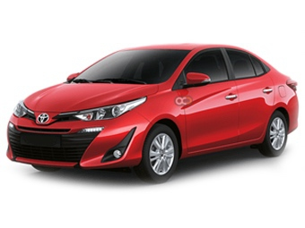 Toyota Yaris Sedan Price in Dubai - Sedan Hire Dubai - Toyota Rentals