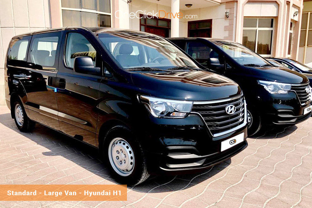 Hire Hyundai H1 - Rent Hyundai Dubai - Van Car Rental Dubai Price