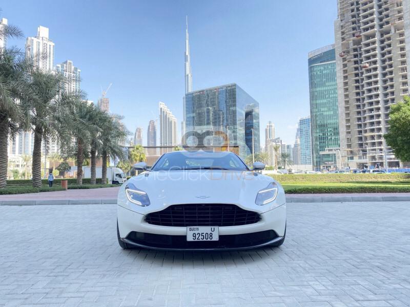 Rent Aston Martin DB11 in Dubai - Sports Car Car Rental