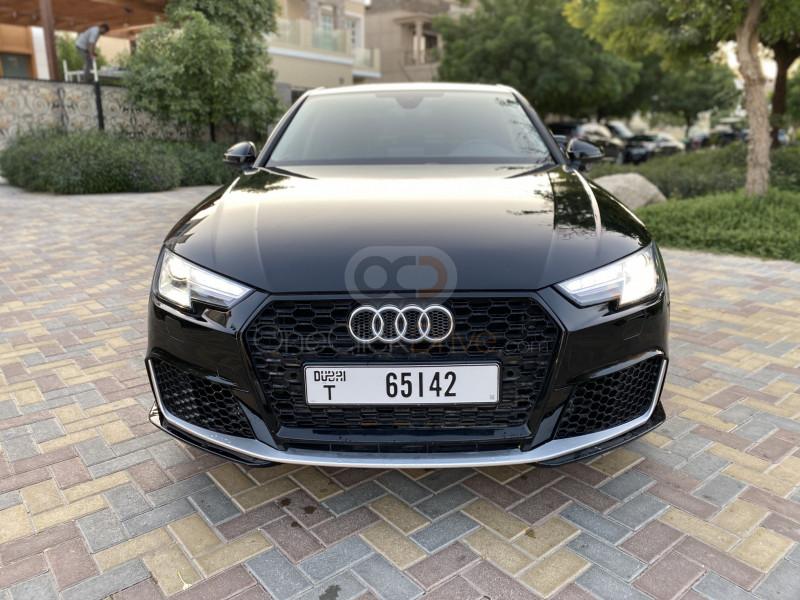 Book Audi A4 2018 in Dubai
