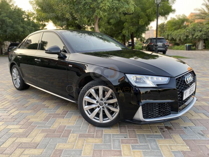 Hire Audi A4 - Luxury Car Dubai