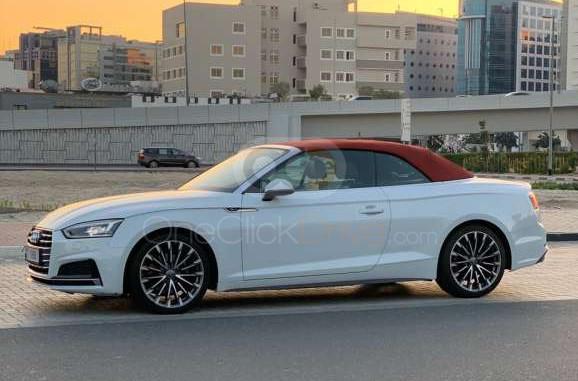 Rent Audi A5 Convertible in Dubai - Coupe Car Rental