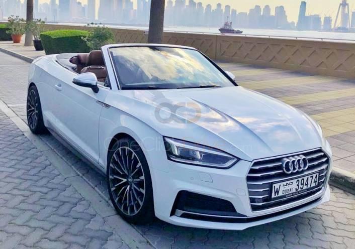 Rent Audi A5 Convertible in Dubai - Sports Car Car Rental