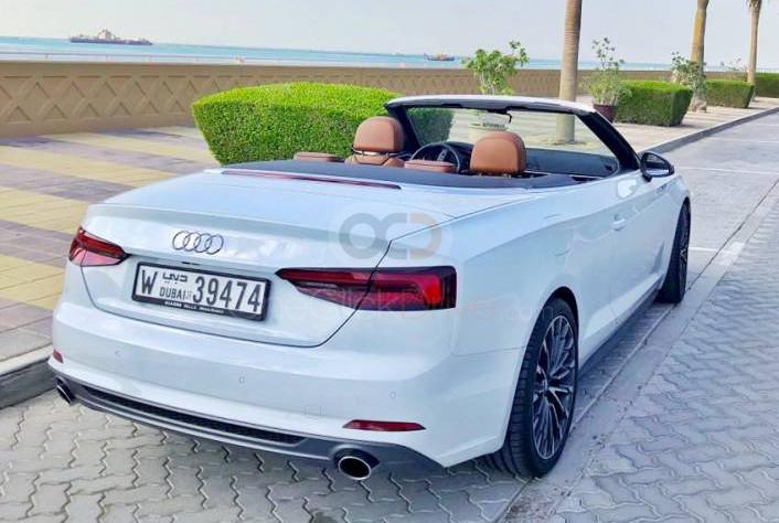 Hire Audi A5 Convertible - Sports Car Dubai